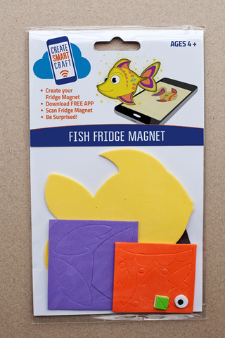Fish DIY Fridge Manget Kit