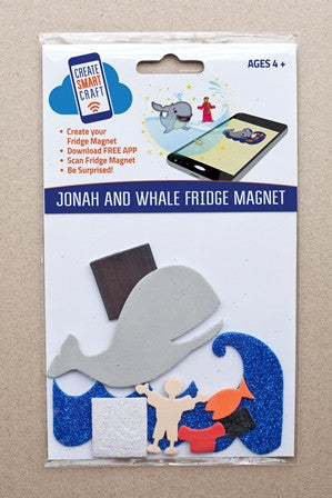 Jonah and Whale DIY Fridge Magnet Kit