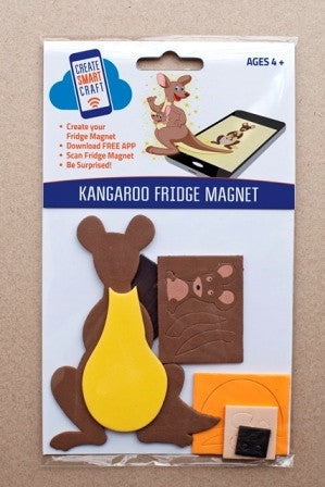 Kangaroo DIY Fridge Magnet Kit