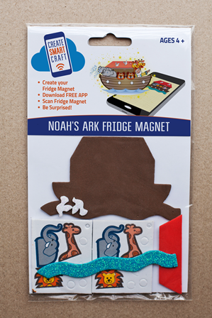 Noah's Ark DIY Fridge Magnet Kit