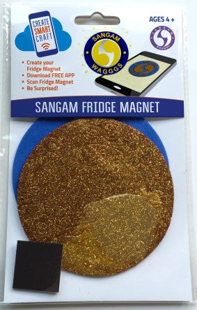 WAGGGS Sangam Logo DIY Fridge Magnet Kit - SUGGESTED AGED GROUP  16yrs +/Adult members