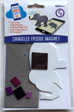 WAGGGS Sangelee DIY Fridge Magnet Kit - SUGGESTED AGE GROUP 12yrs +