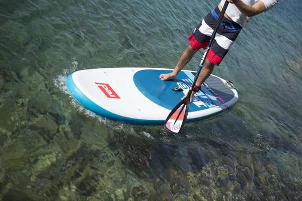 "Ride 9'8"" Inflatable SUP -  - 12"