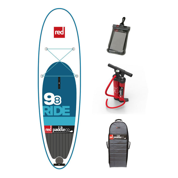 "Ride 9'8"" Inflatable SUP -  - 3"