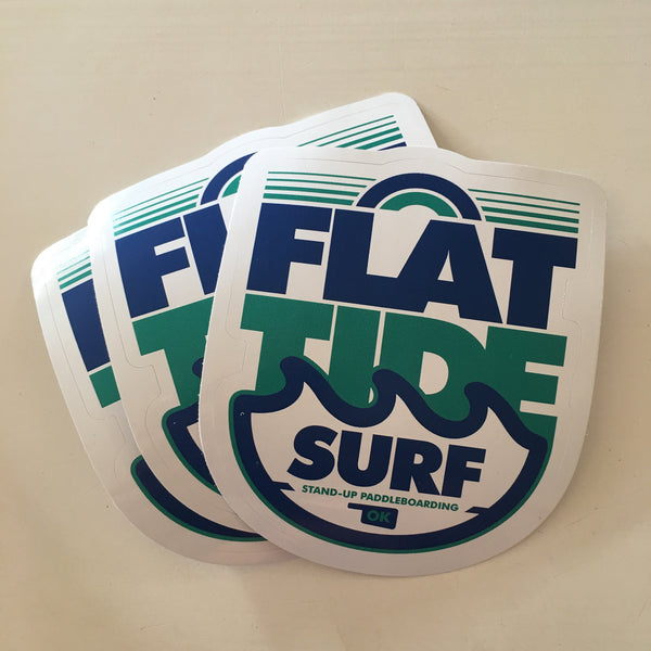 Flat Tide Sticker
