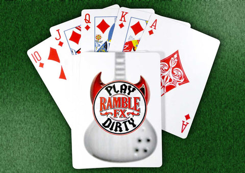 "Ramble FX ""Play Dirty"" Poker Cards"