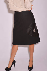 Sonia By Sonia Rykiel Knee Length Skirt (M) - Mercado32