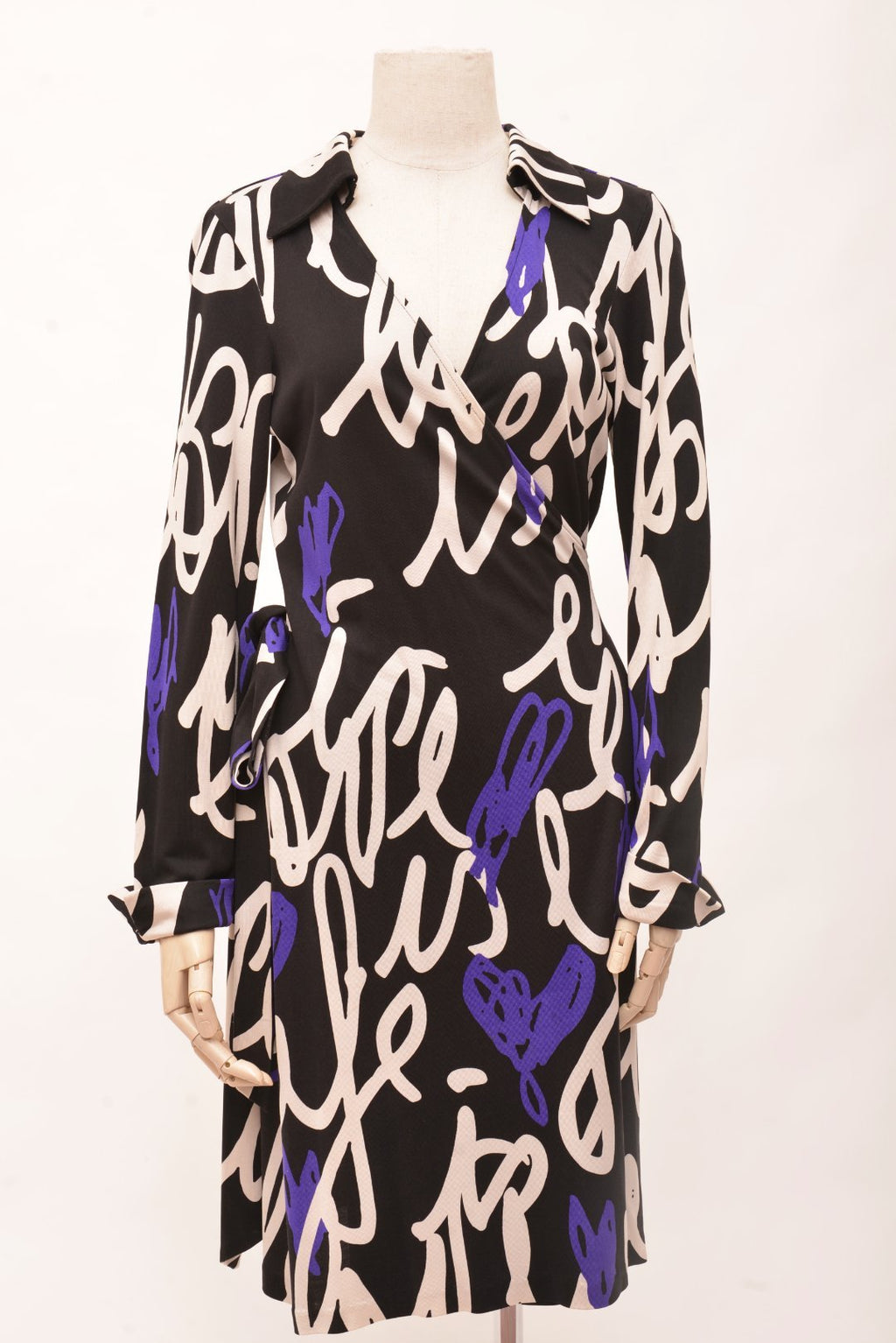 Diane Von Furstenberg Printed Wrap Dress (14)