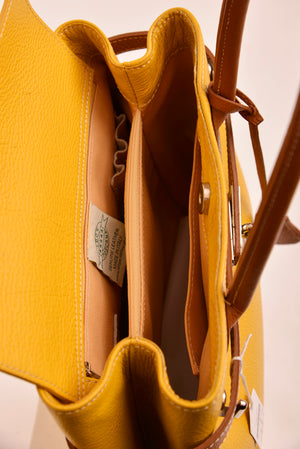 Toscana Italy Yellow Handbag - Mercado32