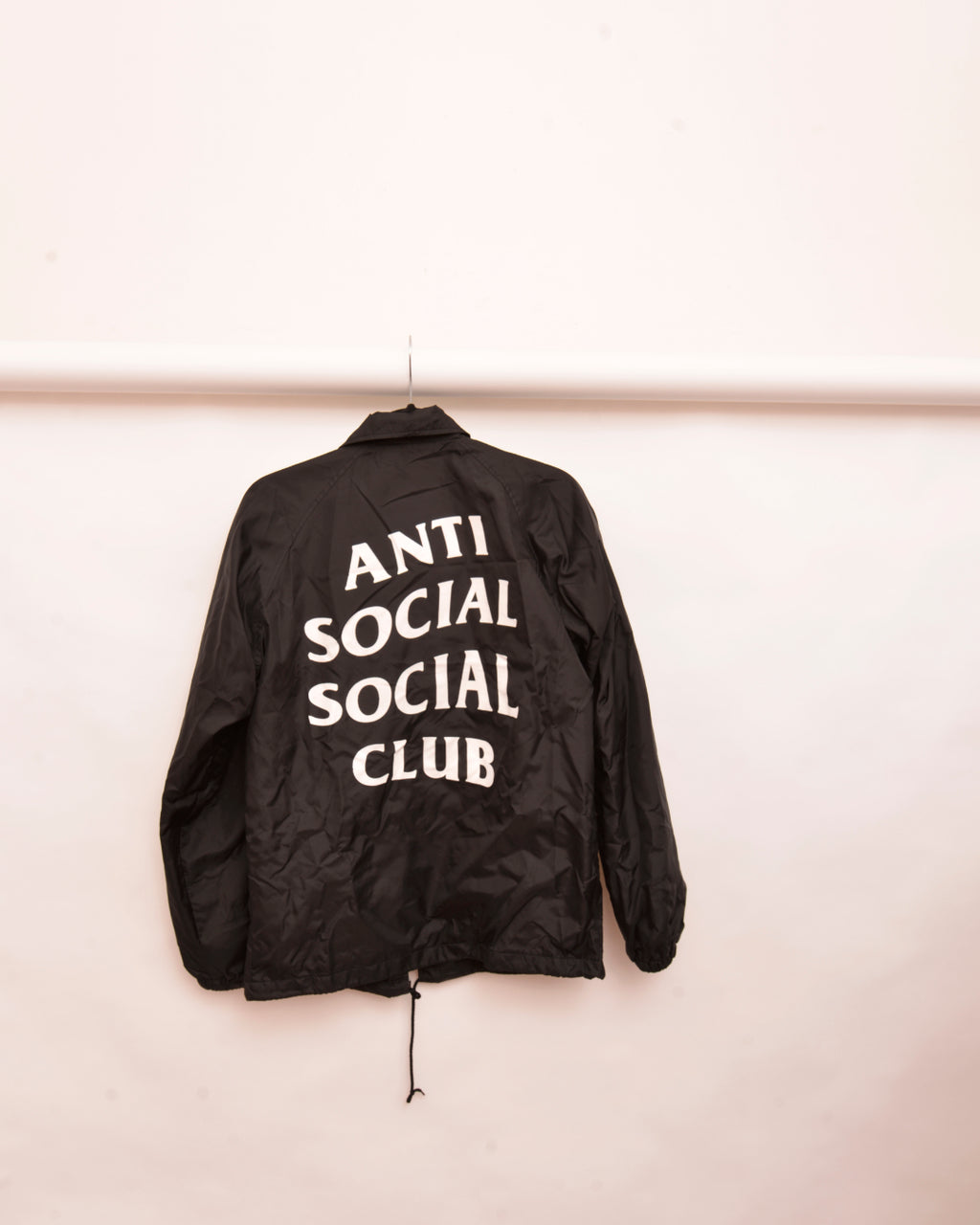Anti Social Social Club Black Windbreaker (S) - Mercado32