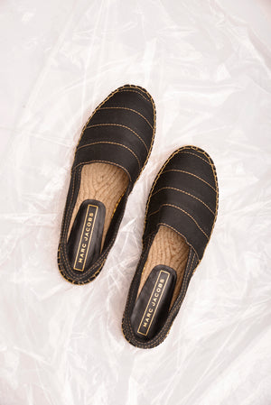 Marc Jacobs Black Espadrilles (38.5) - Mercado32