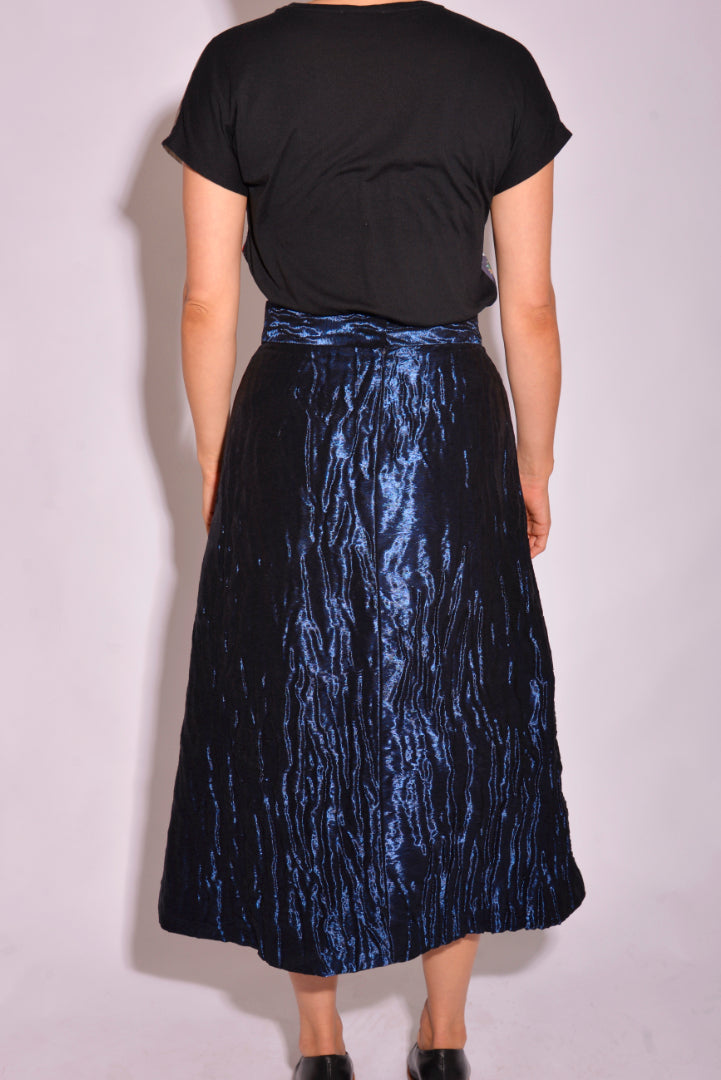Peter Pilotto Metallic Pleated Midi (10) - Mercado32