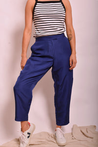 Dion Lee Blue Silk Pants (12) - Mercado32