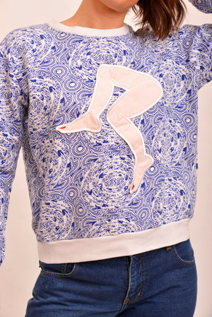 House Of Cards Printed Crew Neck (S/M) - Mercado32