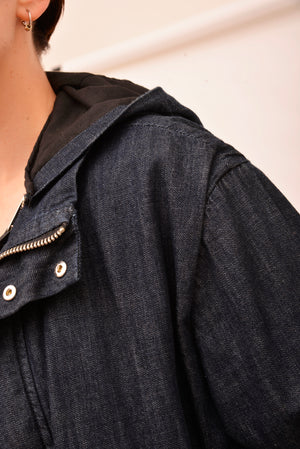 Ksubi Denim Trench Coat (S/M) - Mercado32