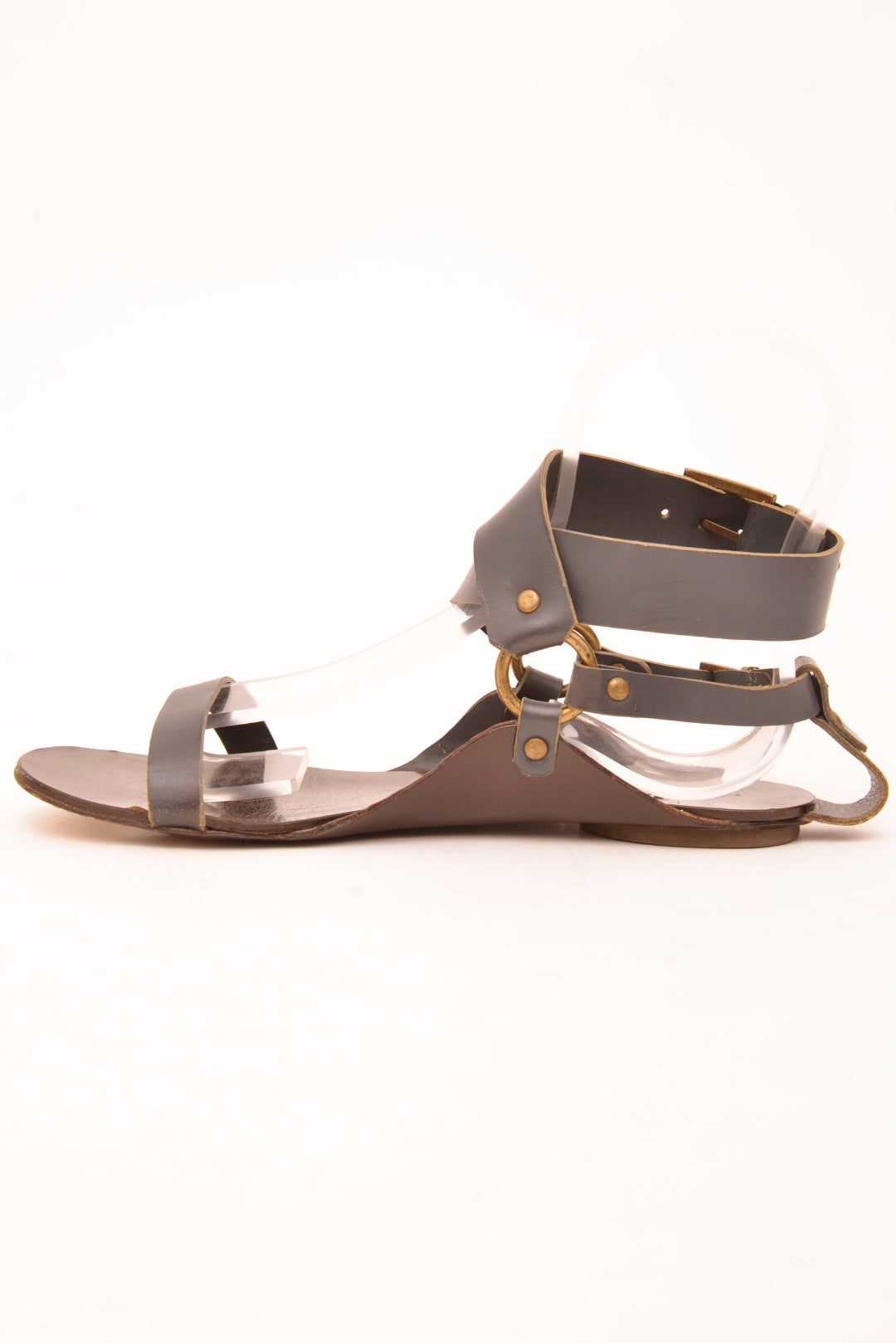 Scanlan & Theodore Navy Sandals (38) - Mercado32