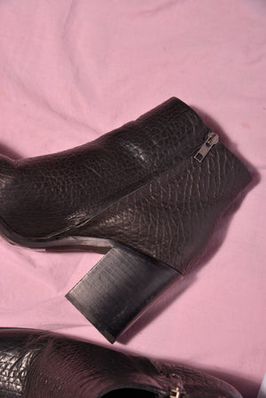Sol Sana Leather Ankle Boots (9) - Mercado32