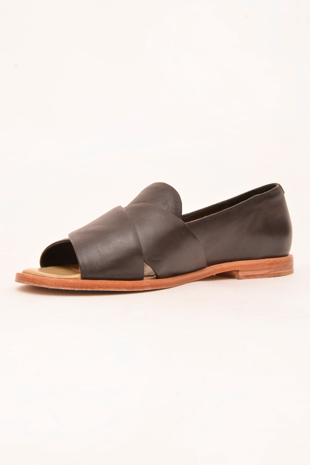 Zomp 'Nairobi' Leather Flats (37)