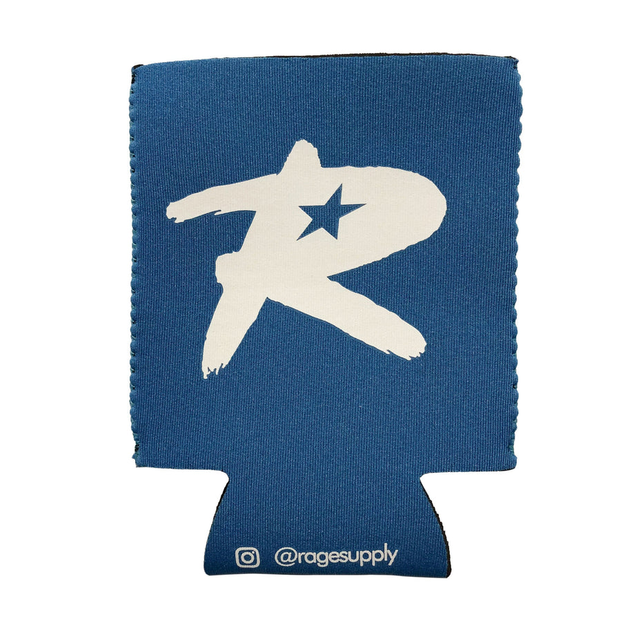 Let's Rage Koozie - Blue
