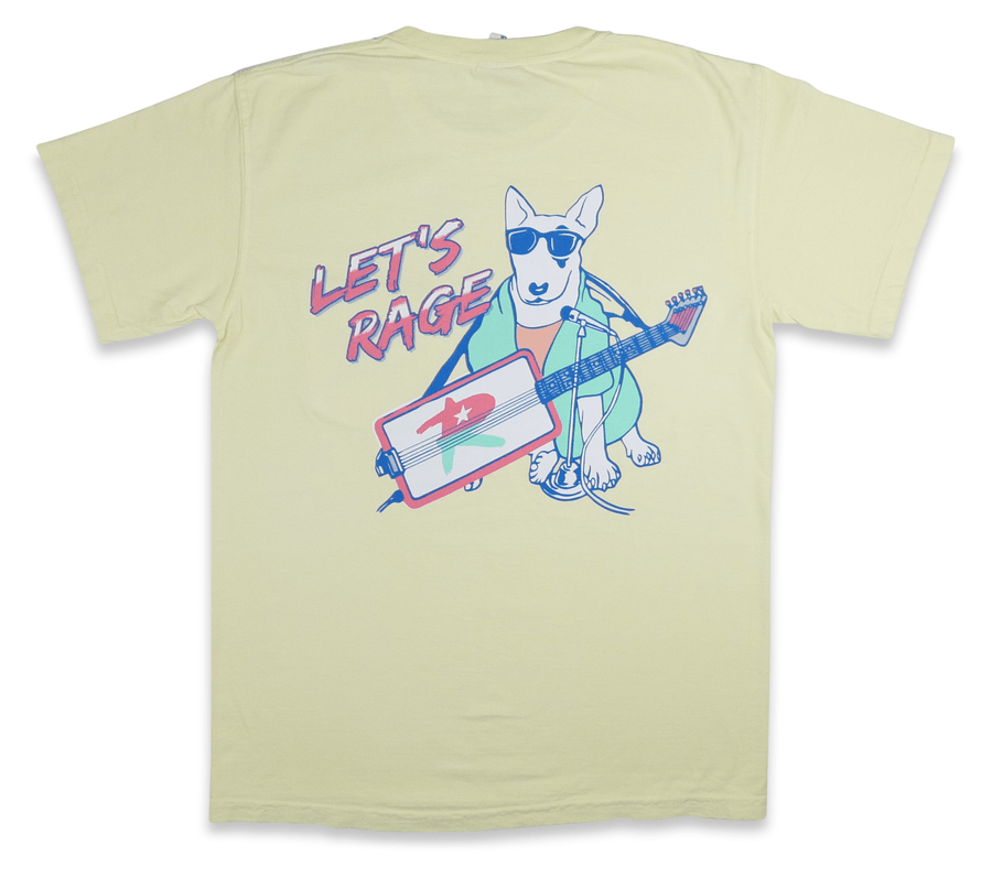 The Let's Rage Dog Pocket Tee