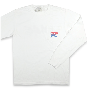 The O.G. White Long-Sleeve Pocket Tee