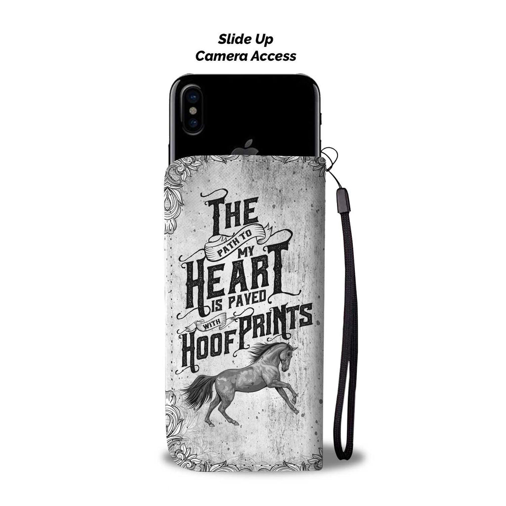 Paved With Hoof Prints Phone Wallet Case