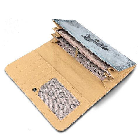 Paved With Hoof Prints  Womens Wallet
