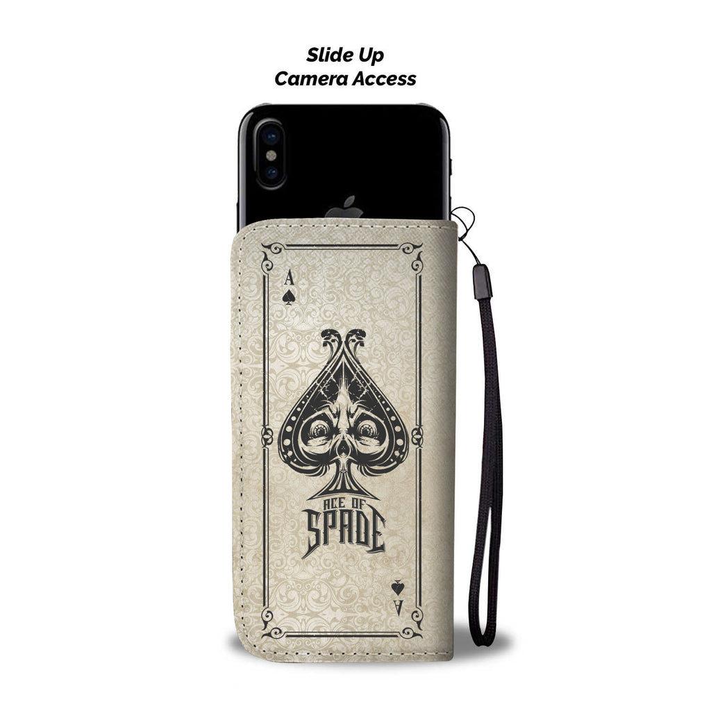 Ace Of Spades Phone Wallet Case