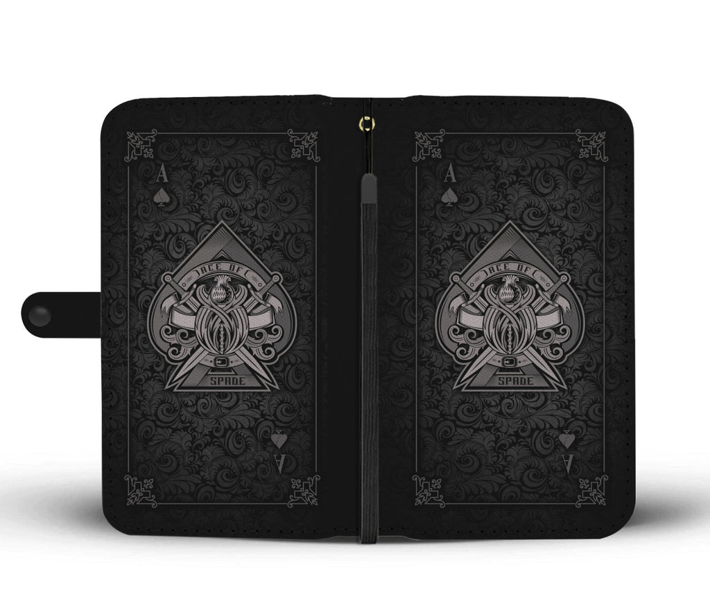 Ace Of Spades 2 Phone Wallet Case