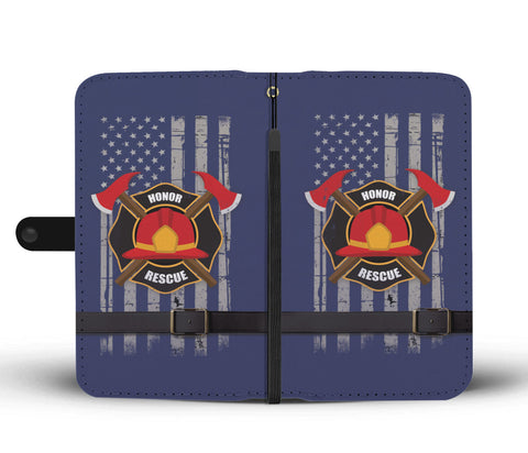 Image of Firefighter (Honor Rescue)  Phone Wallet Case