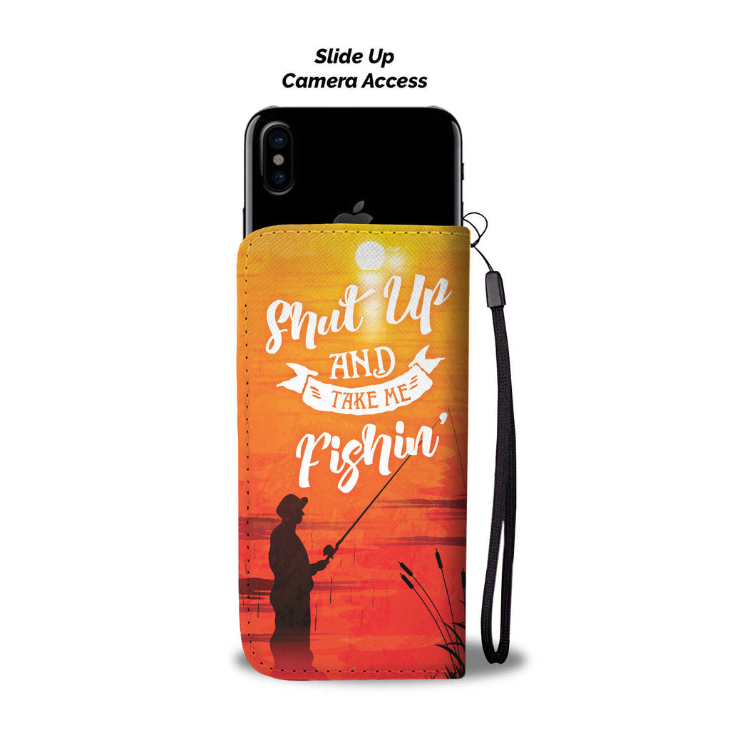 Fishing (Take Me) Phone Wallet Case