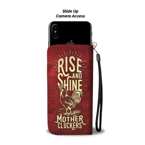 Rise And Shine Phone Wallet Case