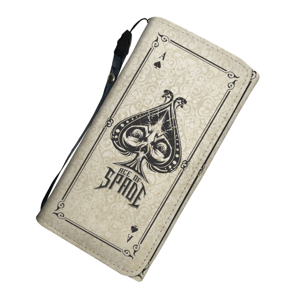 Ace Of Spades Womens Wallet