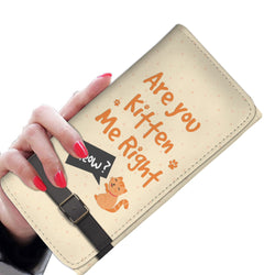 Are You Kitten Me Right Meow Womens Wallet