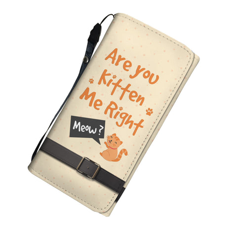 Image of Are You Kitten Me Right Meow Womens Wallet