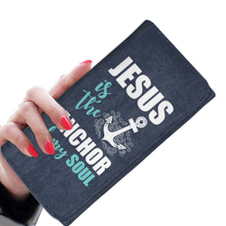 Jesus Is The Anchor Of My Soul Womens Wallet