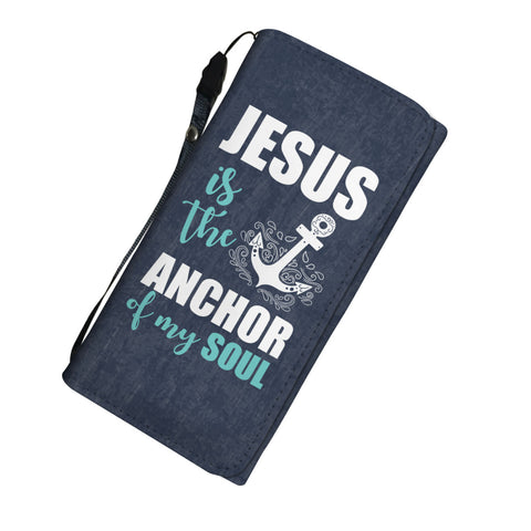 Image of Jesus Is The Anchor Of My Soul Womens Wallet