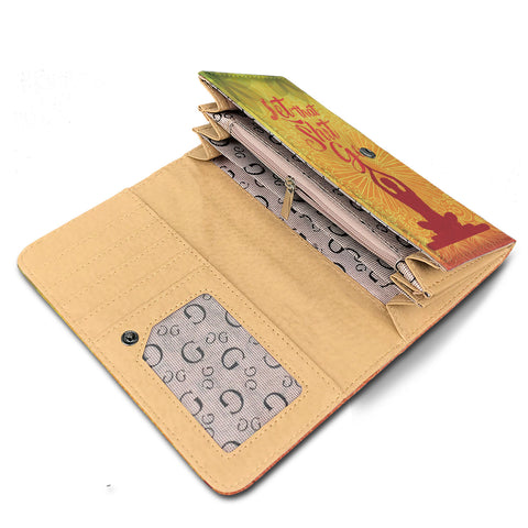Image of Let That Shit Go Womens Wallet