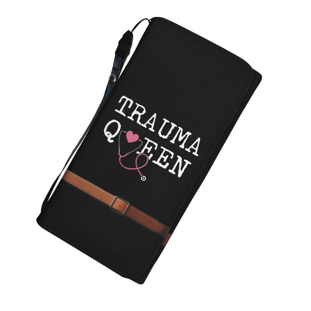 Nursing 2 Trauma Queen Womens Wallet