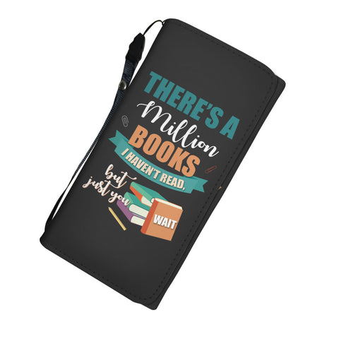 Image of There's a Million Books Womens Wallet