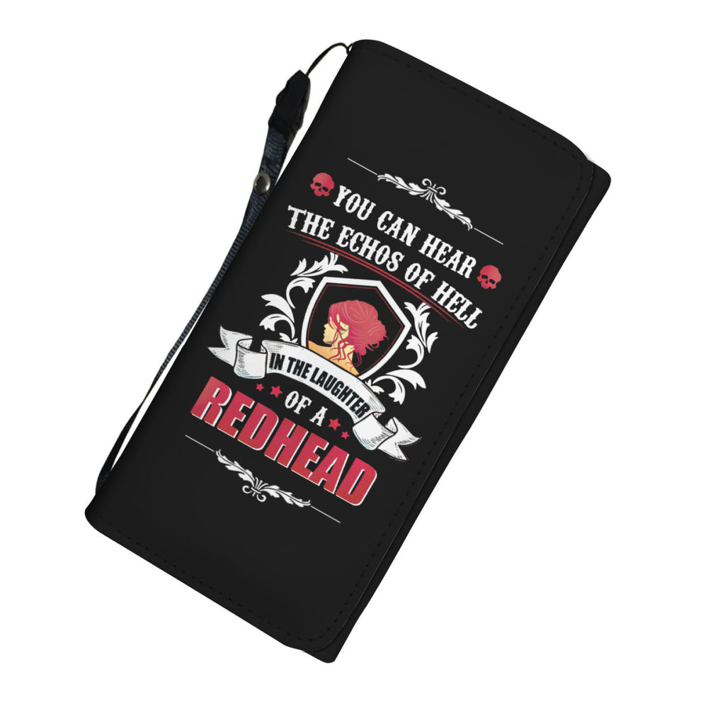 Laughter Of a Redhead Womens Wallet