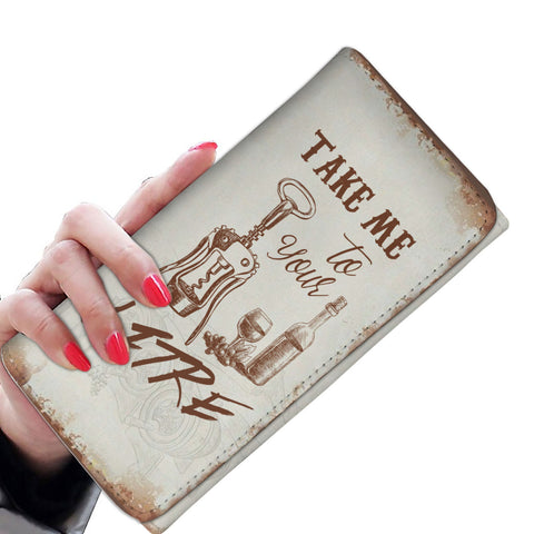 Image of Take Me To Your Litre Womens Wallet