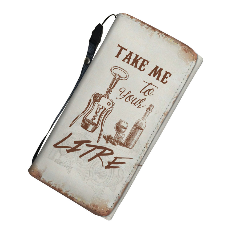 Take Me To Your Litre Womens Wallet