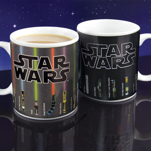 Image of Star Wars Lightsaber Heat Reveal Mug