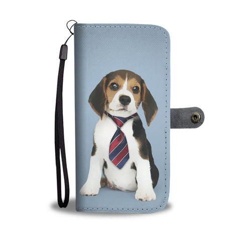 Personalized Beagle Wallet Phone Case