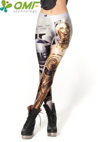 Stretchy Women's Graphic Design and Star Wars Leggings