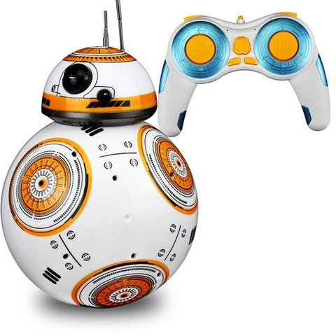 Image of Star Wars RC BB-8 Star Wars Robot, 2.4G remote control action figure
