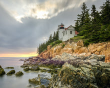 Head Light in Acadia, Maine