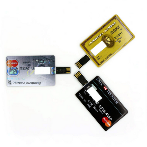 Image of 4 GB Credit Card USB Flash Drive