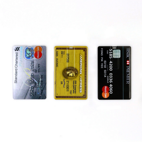 Image of 8 GB Credit Card USB Flash Drive